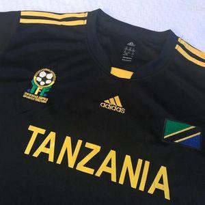 814995b404a adidas Shirts & Tops | Tanzania Soccer Football Jersey Shirt | Poshmark